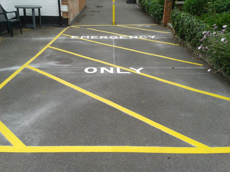car park marking lewis lining marking services across the uk. Black Bedroom Furniture Sets. Home Design Ideas