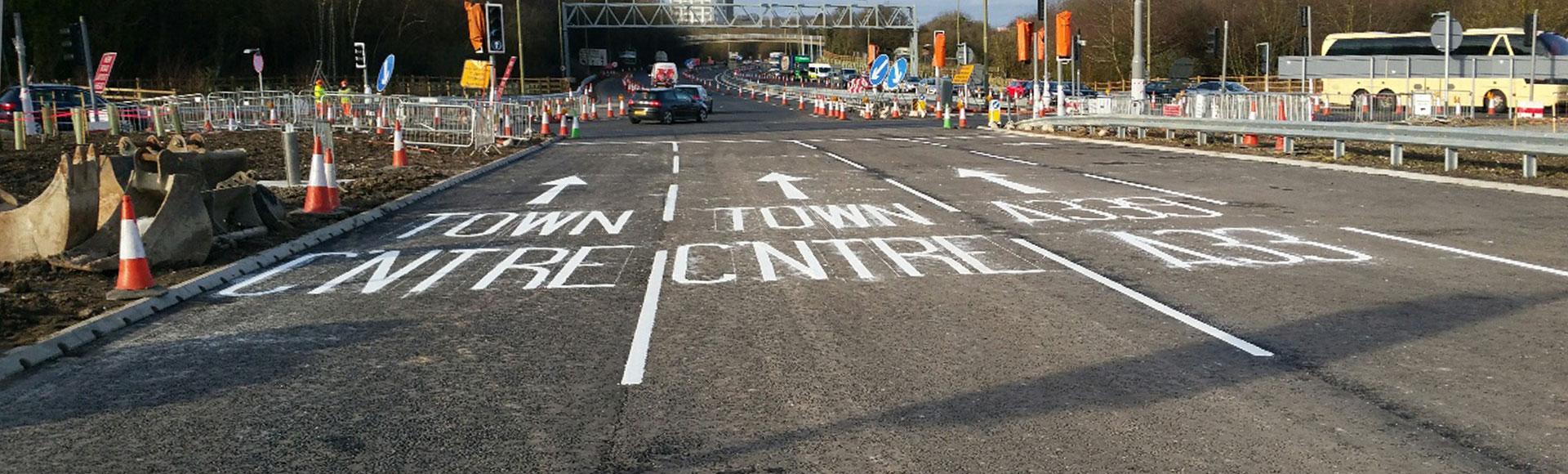 Road Marking lane control