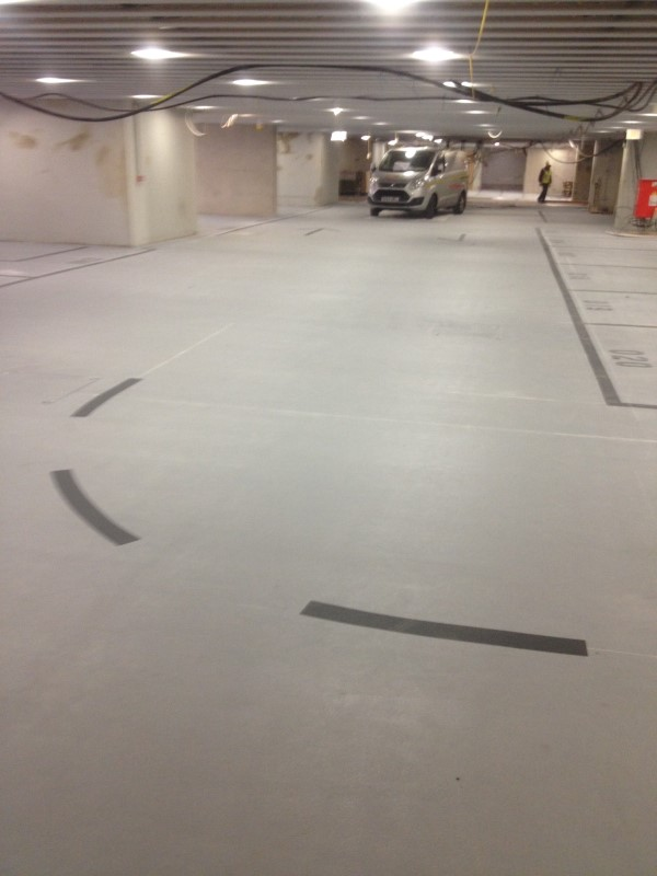 Basement Car Park Markings Lewis Lining Marking Services