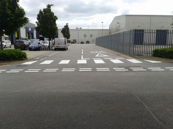 Road Marking crossing