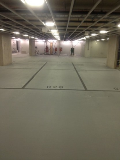 Carpark Marking Basement 2